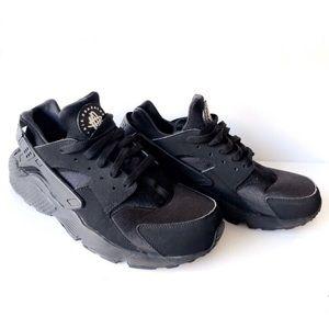 Men's Nike Air Huarache Black Size 10.5